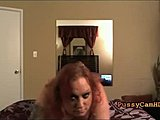 Redhead BBW Slutty Striptease Having Orgasm On webcam Part 2 ]