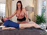 Mama has a fun cum compilation Her andst turns to relish when that sex bomb
