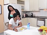 Full-bosomed Step mommy Jasmine ebon obtains Deeply pissed by Son