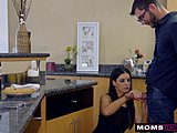 Mommy bonks Step Son & Eats minor Creampie For Thanksgiving Treat