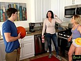 Bratty Sis - step Brother mates step Sister Right subsequent To Mom! S3:E11