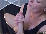 German mamma persuade Massage minor to bang her Anal Mom Porn