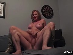 Busty Milf Riding James Hard Dick