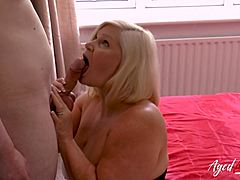 AgedLovE insatiably shag with developed Lacey Starr Mature XXX