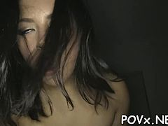 Steamy dark-haired diva daisy summers entertains faminine male spanking maturepornvideos